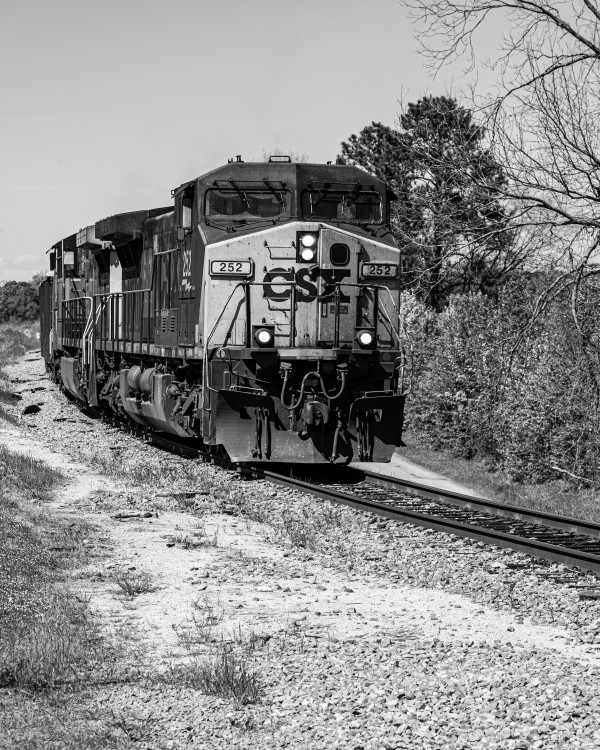 CSX Train along the Augusta Canal GA 02939 by @ThePhotourist