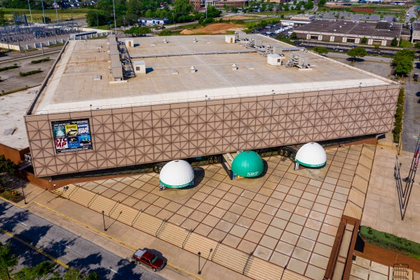 James Brown Arena Civic Center Augusta GA Aerial View 0734 by @ThePhotourist