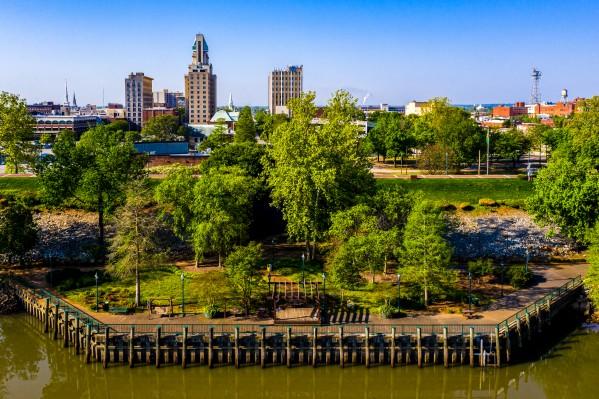 Riverwalk at the Savannah River Augusta GA 0693 by @ThePhotourist