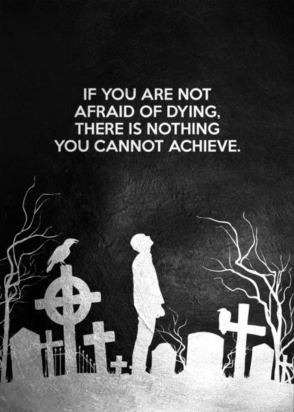 Laugh at Death Motivational Wall Art Digital Download