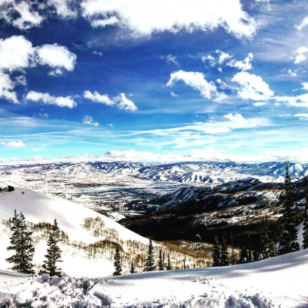 Brighton Resort Back Country by AEDIFICO Prints