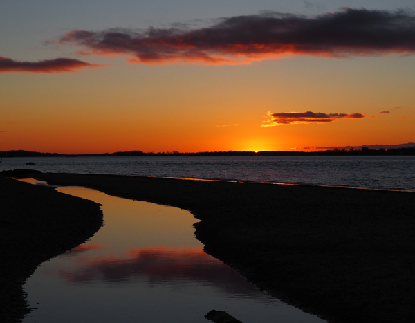 1 Sunset with Cloud by Adam M Bundy