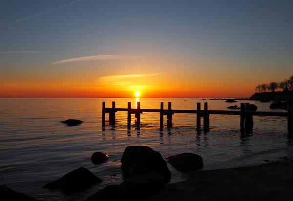 March 2021 Sunrise Dawn Lane by Adam M Bundy