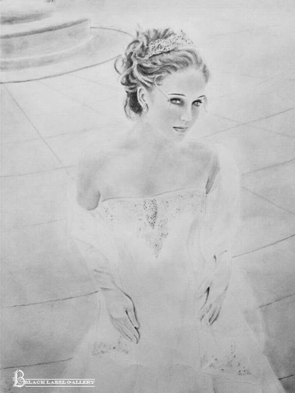 Bride BLG  Print