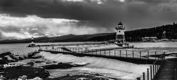 Grand Marais Lighthouse by Adventure Photography