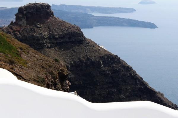 Skaros Rock - Santorini by Bentivoglio Photography