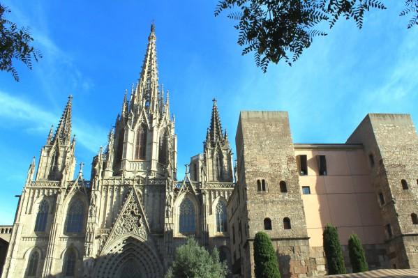 Amazing Barcelona Cathedral by Bentivoglio Photography