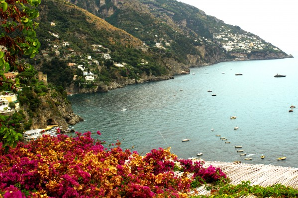 Amalfi Coast landscape  by Bentivoglio Photography