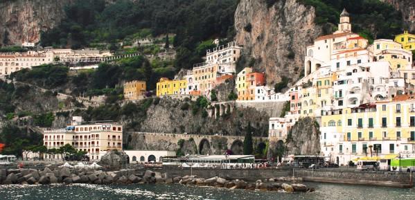 Amalfi Coast Panoramic View by Bentivoglio Photography