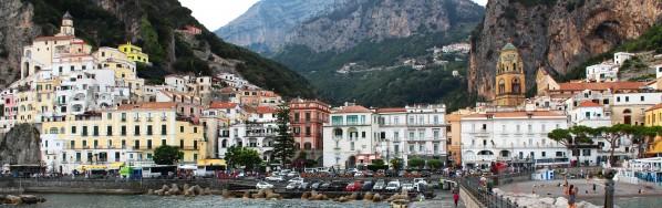 Amalfi Village Super Panoramic by Bentivoglio Photography