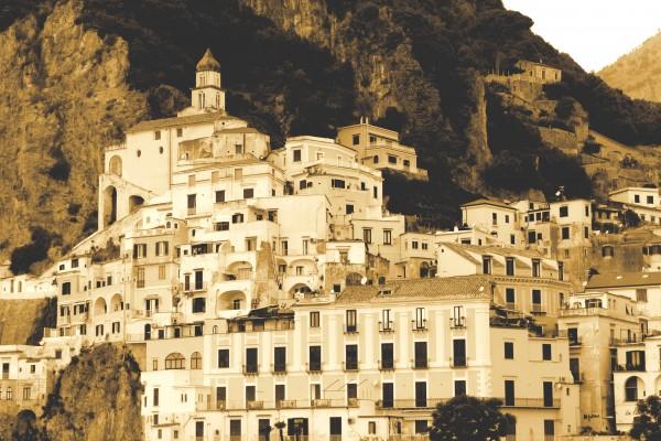 Landscape - Amalfi Village - Italy by Bentivoglio Photography