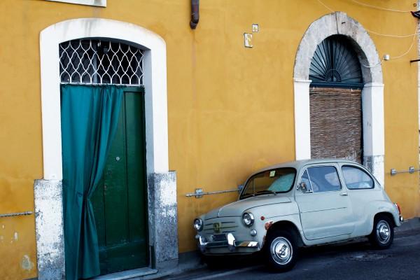 Vintage Car - Italy by Bentivoglio Photography