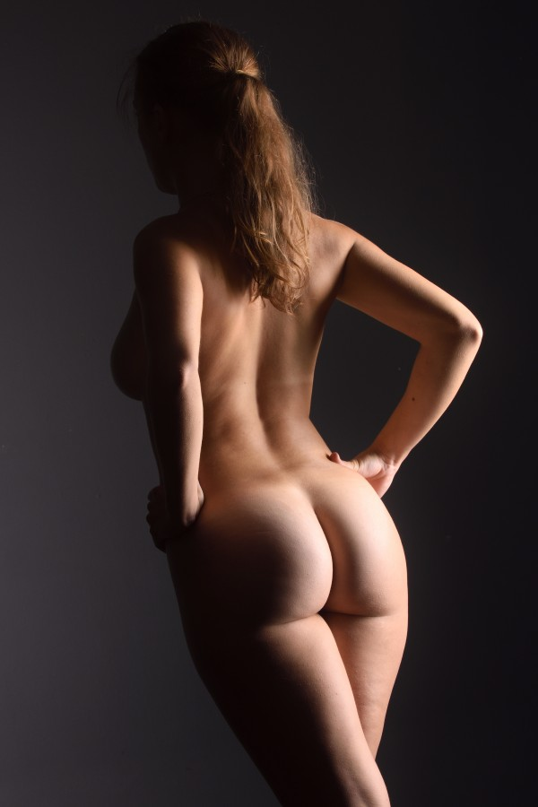 bodyscape_nude_woman_naked_back_isolated by Alessandrodellatorre
