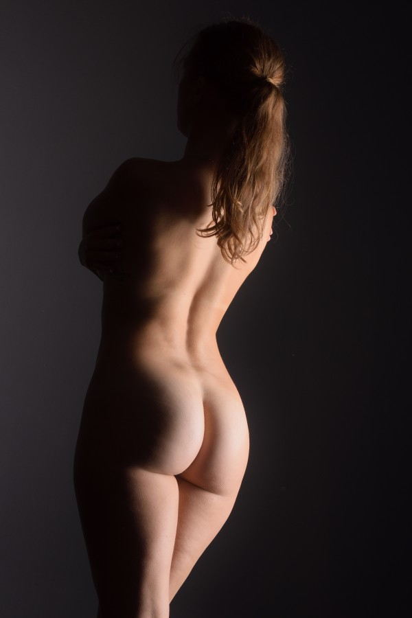 bodyscape_nude_woman_naked_buttocks_isolated_6 by Alessandrodellatorre