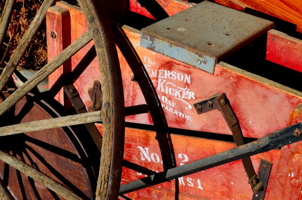 Wagon Wheels.03 by Alexis Patten