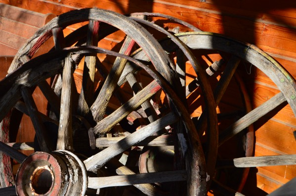 Wagon Wheels.05 by Alexis Patten