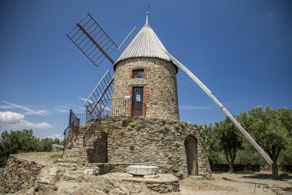 Moulin Collioure  by Alle Christian