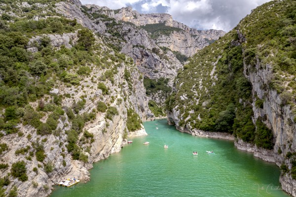 Les Gorges du Verdon by Alle Christian