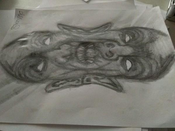2faced by Allison Scheurich