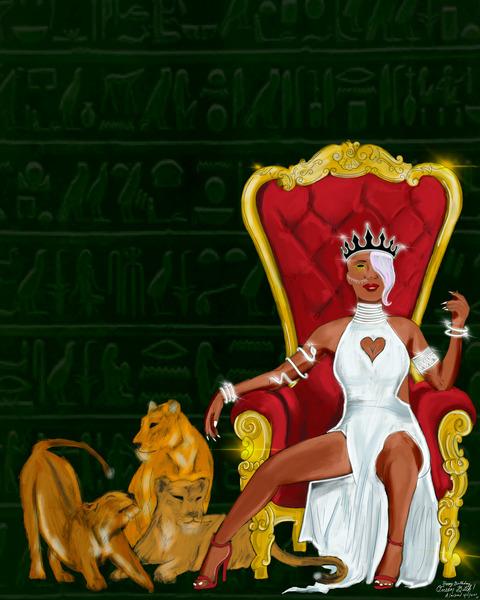 QueenBytch by Alonza Lawson