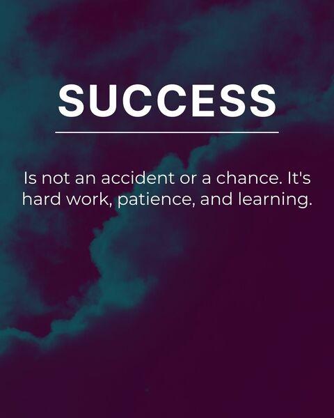 Success by Ander Artz