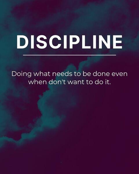 Discipline by Ander Artz