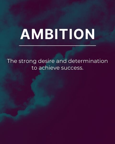 Ambition  by Ander Artz