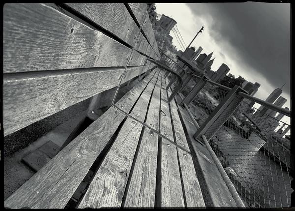 Brooklyn Bench by Andrea Mancuso Photography