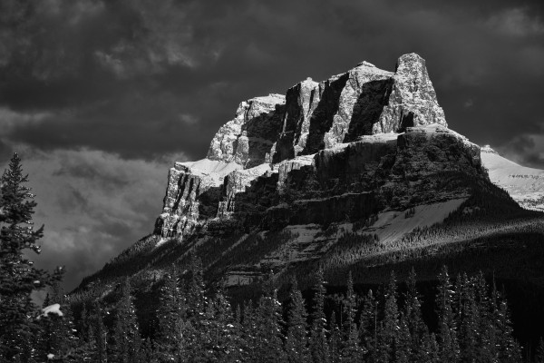 Castle Mountain by Andrew Wasik
