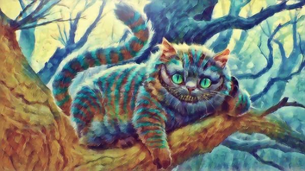 Cheshire Cat  Digital Download