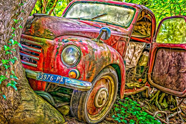 Old Pickup Digital Download