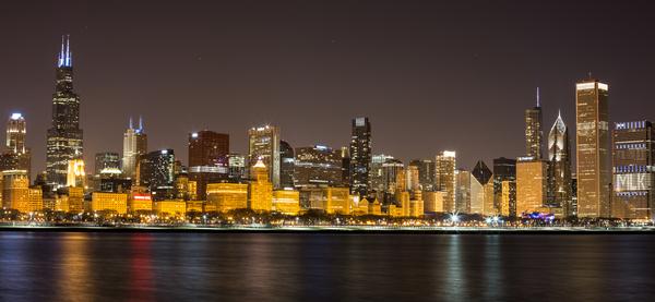 Chicago Skyline Digital Download