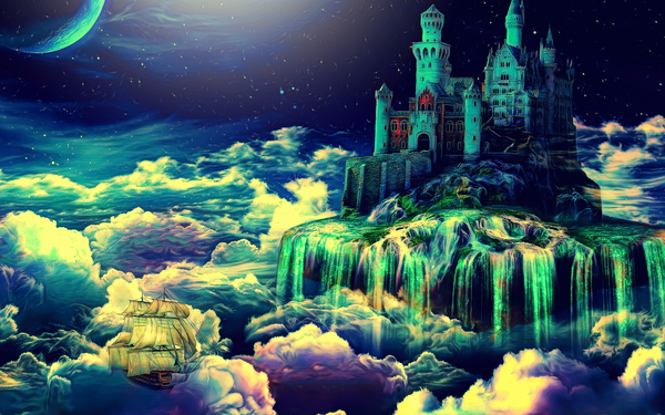 Castle In The Clouds Digital Download