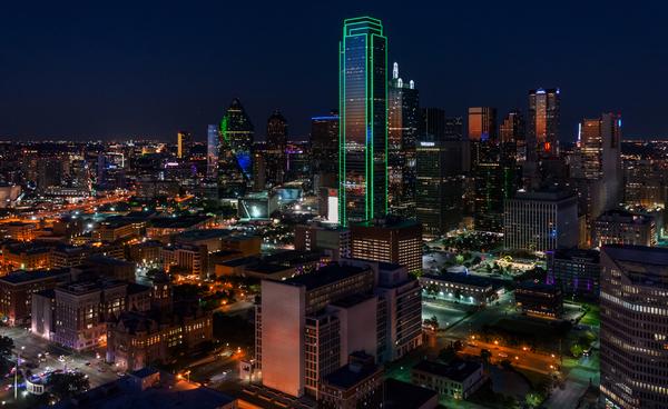 Dallas Skyline Digital Download
