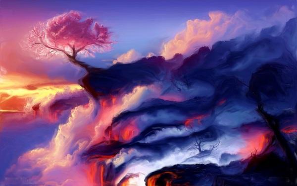 Fiery Mountain Digital Download