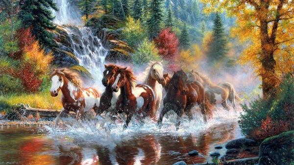 Galloping River Digital Download