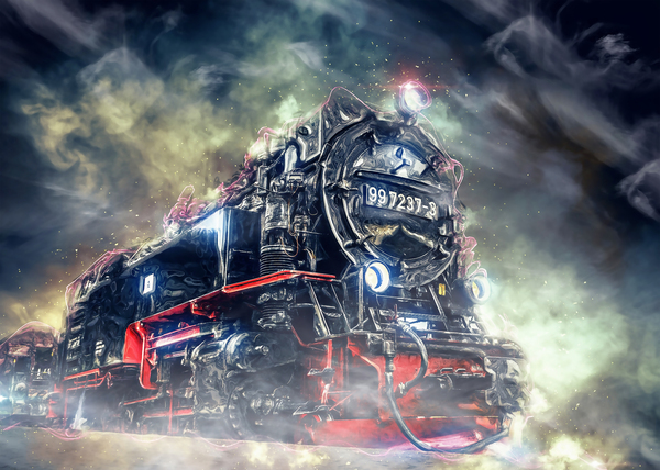 Ghost Train Digital Download
