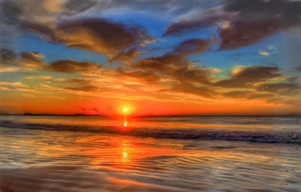 Golden Sea Digital Download