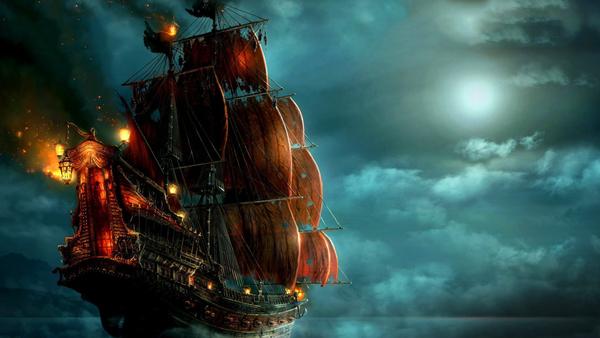 Pirate Ship  Digital Download
