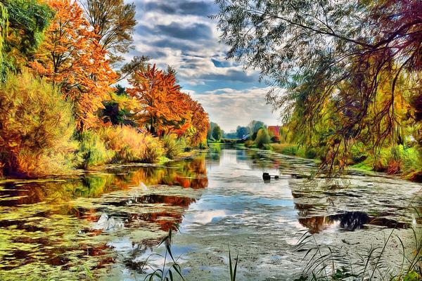Autumn River Digital Download