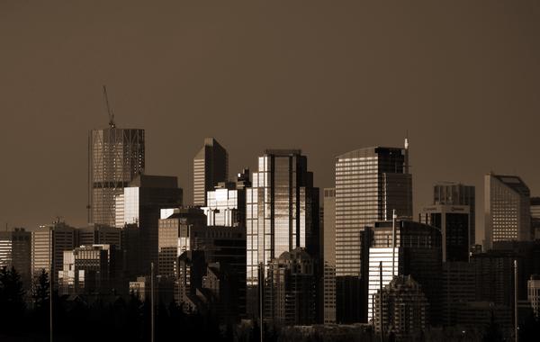 Calgary Skyline Digital Download