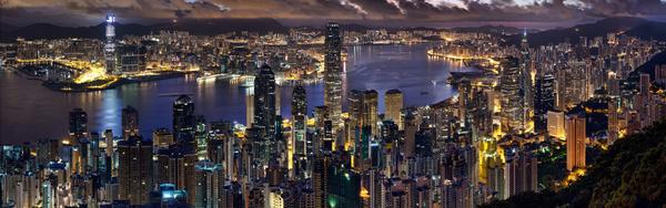 Hong Kong city  Digital Download