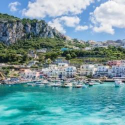 Capri Harbor in turquoise color by AngelaSorrentino