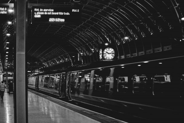 Paddington Station by Anthony M Farber