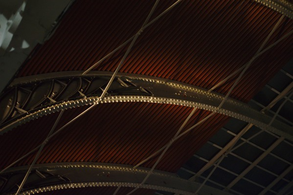 Steel Roof of Paddington Station by Anthony M Farber