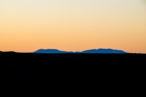 Arizona Desert Sunset by Anthony M Farber
