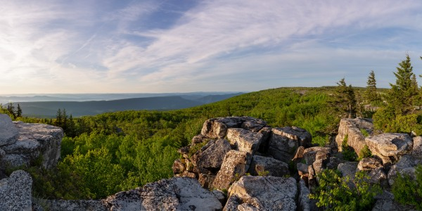 Bear Rocks at Sunrise apmi 1714 by Artistic Photography