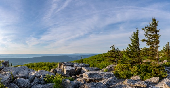 Bear Rocks at Sunrise apmi 1717 by Artistic Photography