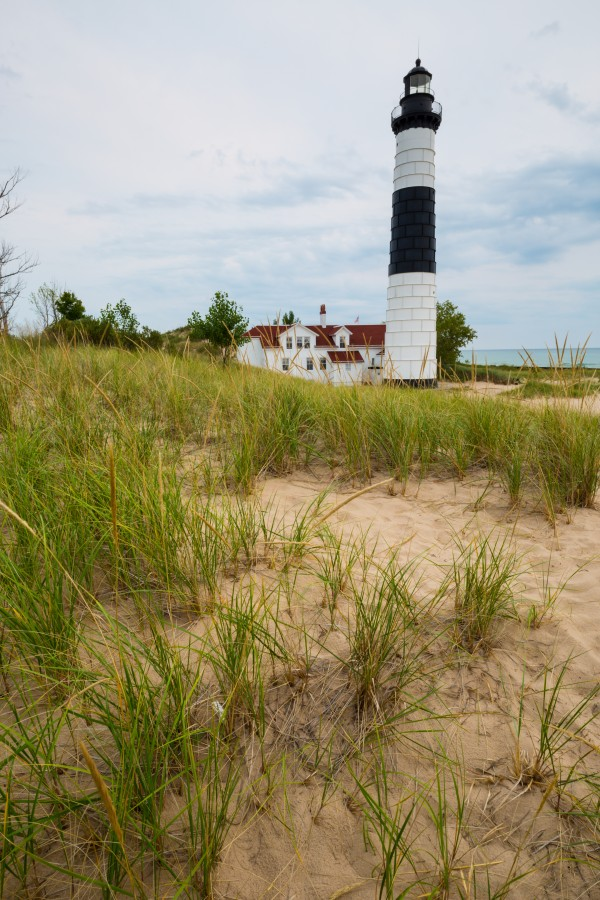 Big Sable Lighthouse ap 2412 by Artistic Photography