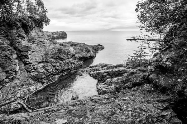 Black Rocks ap 2552 B&W by Artistic Photography